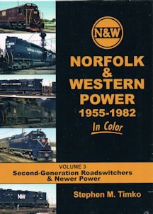 Norfolk & Western Power 1955-1982 in Color