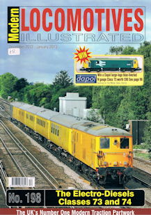 Modern Locomotives Illustrated No. 198 The Electro-Diesels Classes 73 and 74