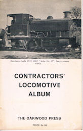 Contractors Locomotive Album