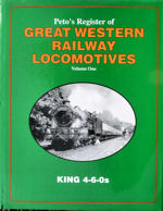 Peto's Register of Great Western Locomotives