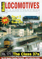 Modern Locomotives Illustrated No 171 The Class 37s