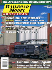 Railroad Model Craftsman January 2019