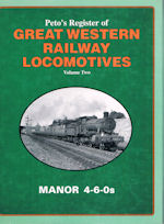 Peto's Register of Great Western Railway Locomotives