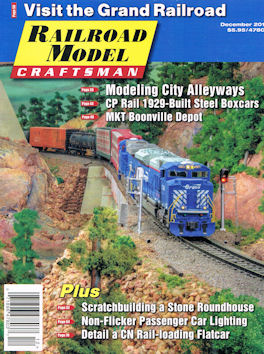 Railroad Model Craftsman December 2016