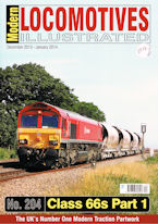 Modern Locomotives Illustrated No 204 Class 66 Part 1