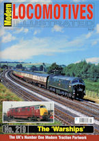 Modern Locomotives Illustrated No. 219 The 'Warships'