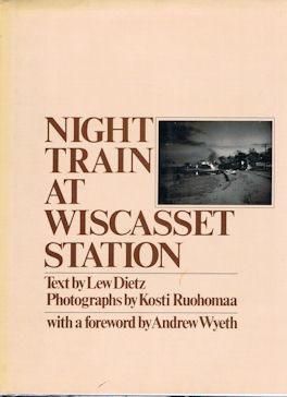 Night Train at Wiscasset station