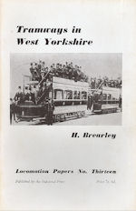 Tramcars in West Yorkshire