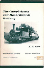 The Campbeltown and Machrihanish Light Railway