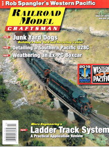 Railroad Model Craftsman March 2019